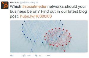 Twitter Profile Hubspot